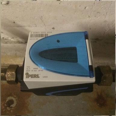 Elektronischer Wasserzähler mit integriertem M-Bus-Funk