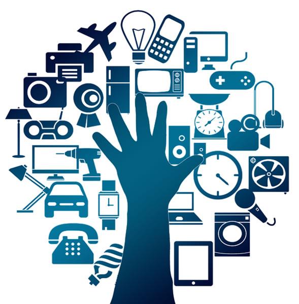 Internet der Dinge - IoT oder alles kann mit allem vernetzt werden.